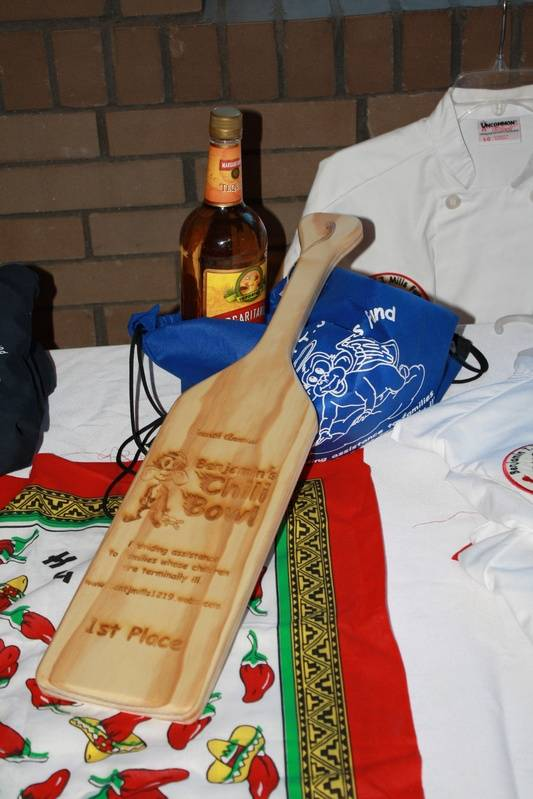 Prizes for chefs