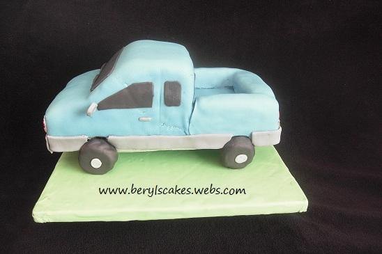My First Car/Truck Cake