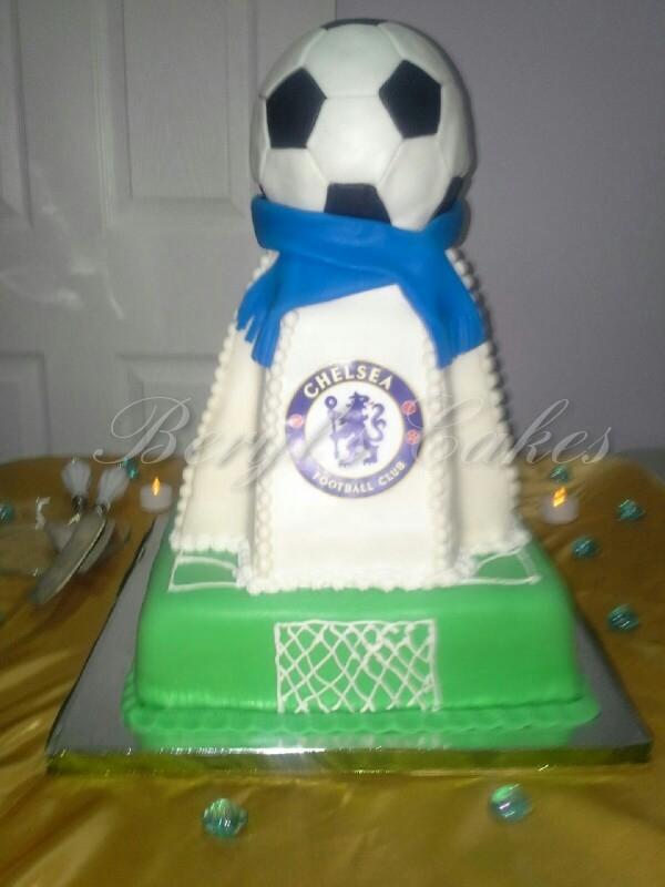Chelsea Fooball Club Cake