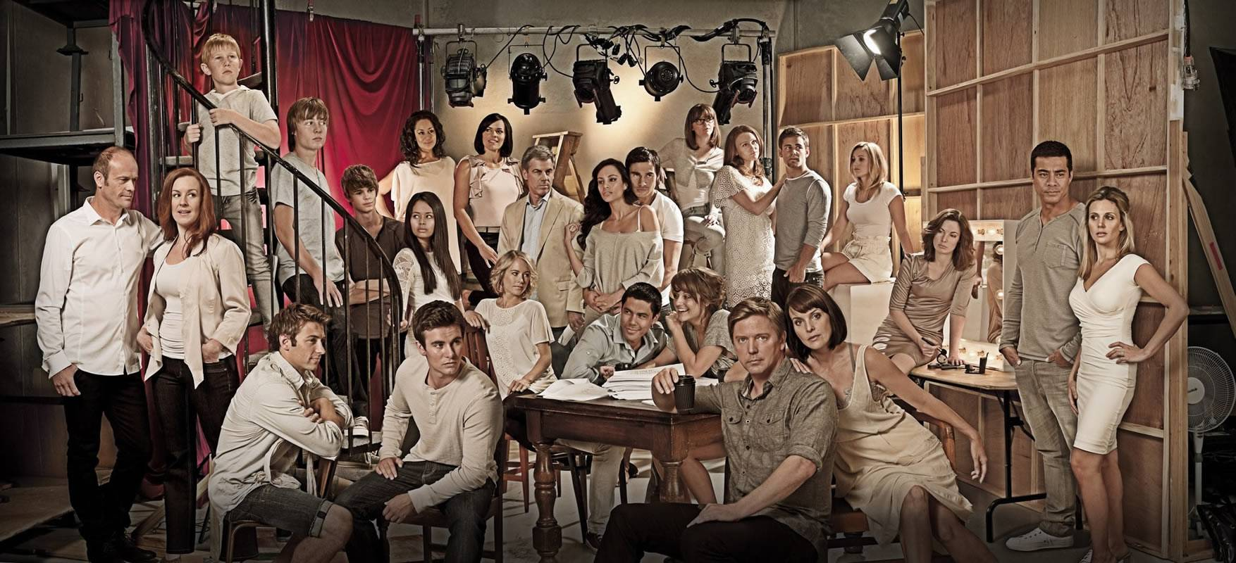 Shortland Street cast: photo shoot 2011