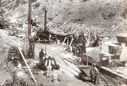 Men at Work Cotter Dam
