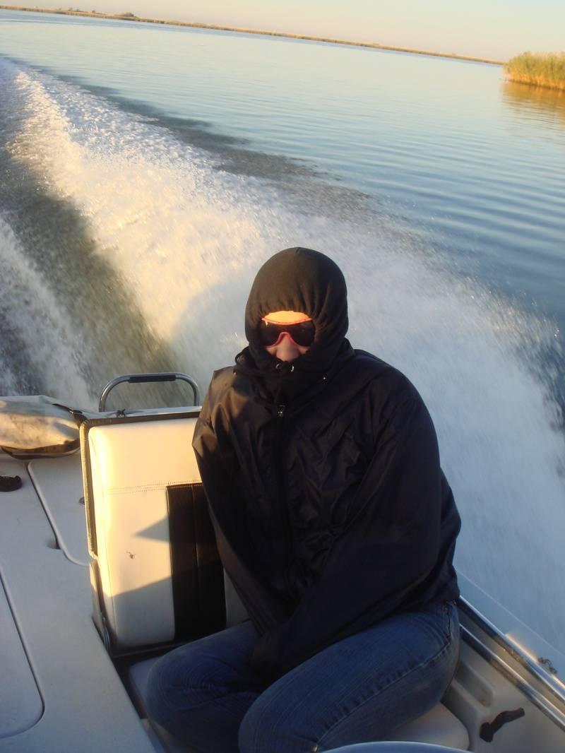 Margaret Cold Boat Ride