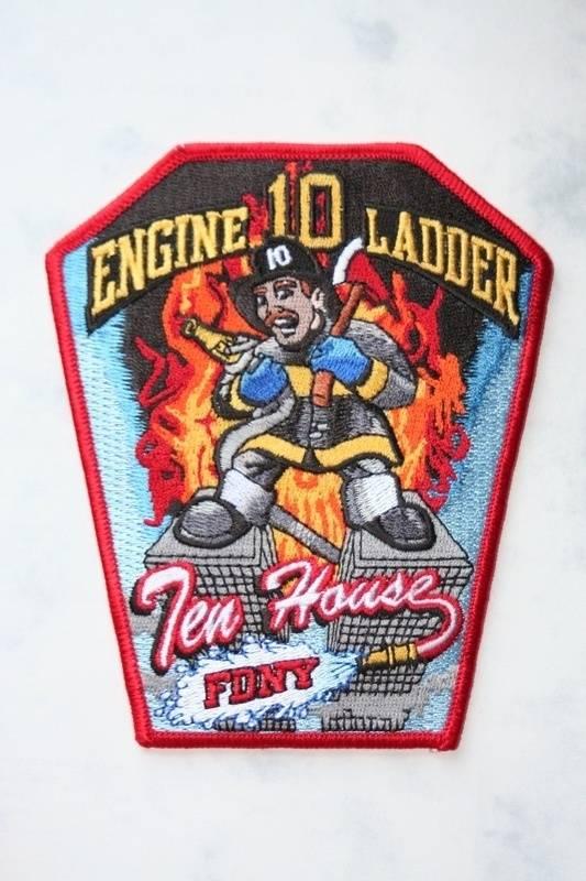 """""""Ten House""""-Engine 10/Ladder 10"""