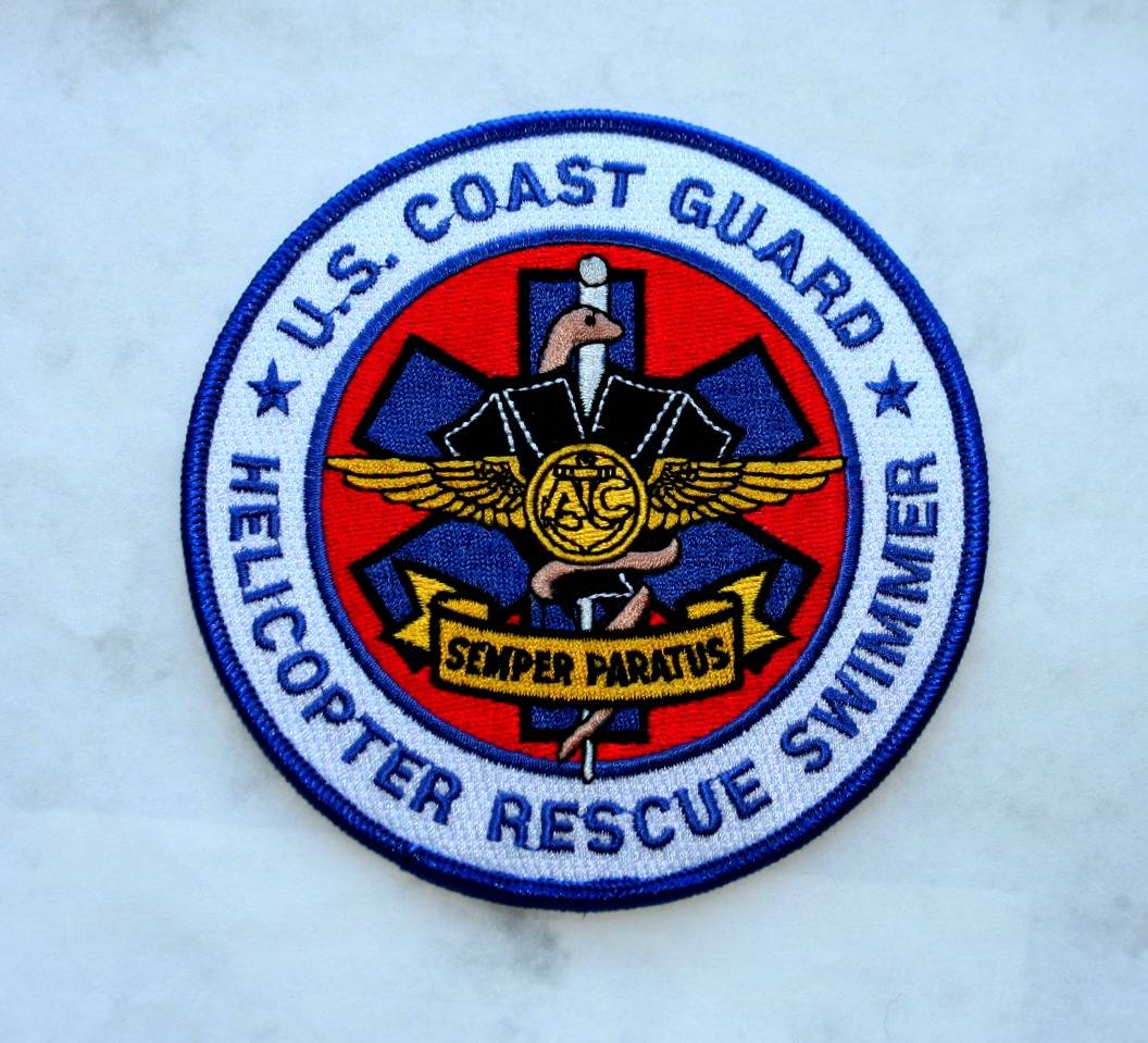 US Coast Gaurd Rescue Swimmer