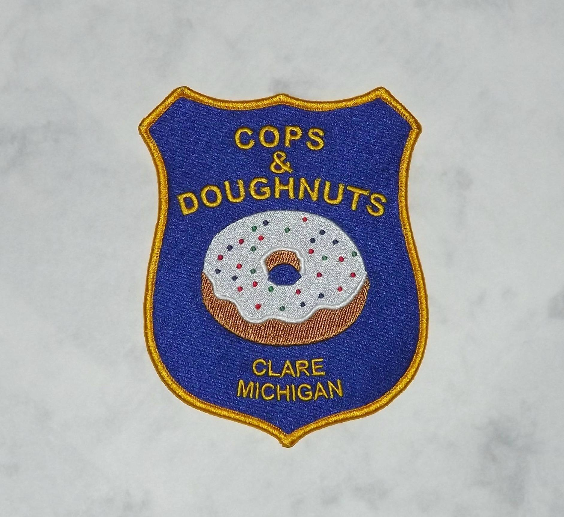 Cops and Doughnuts Bakery, Clare Michigan