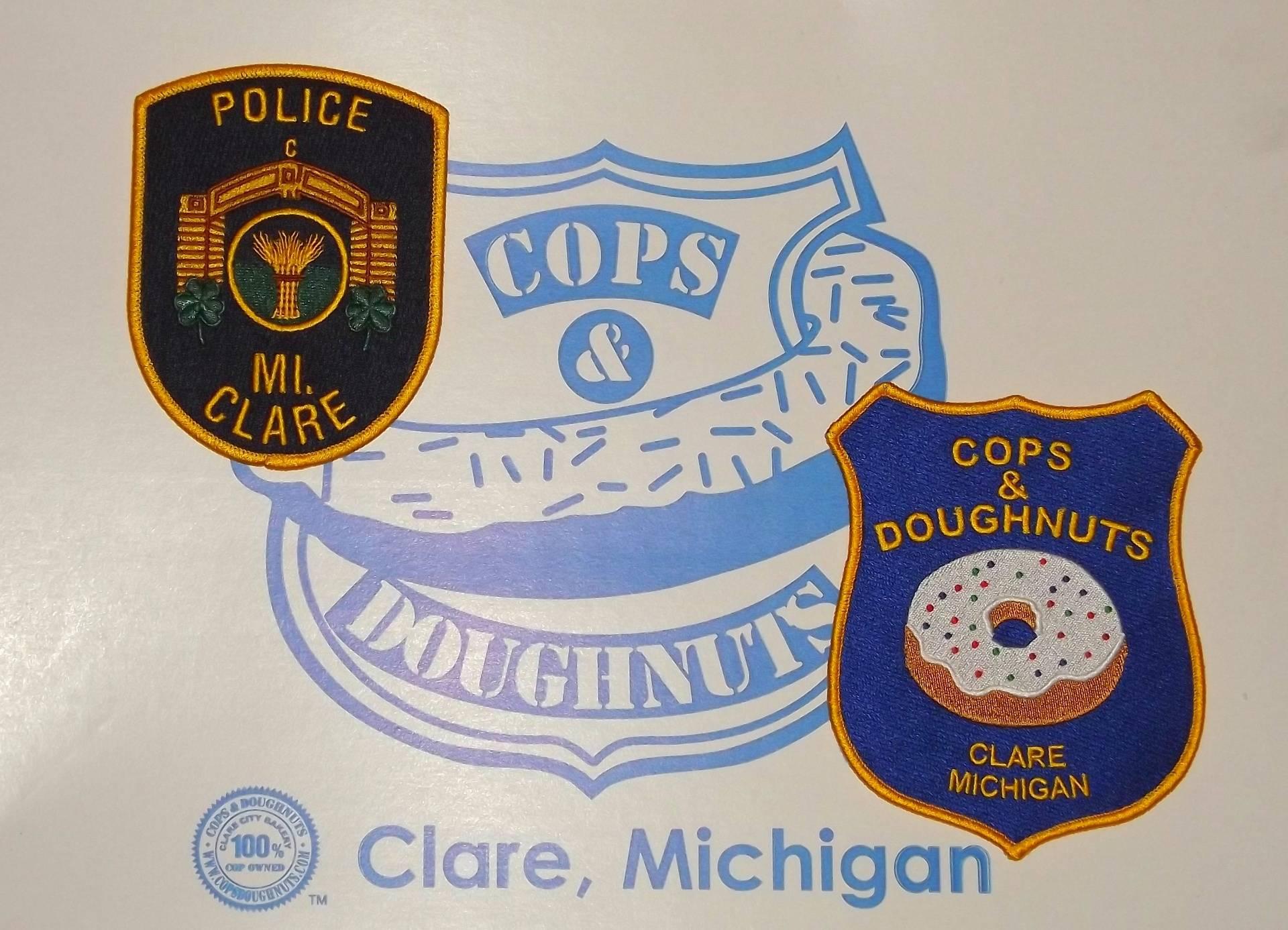 Cops and Doughnuts Bakery, Clare Michigan