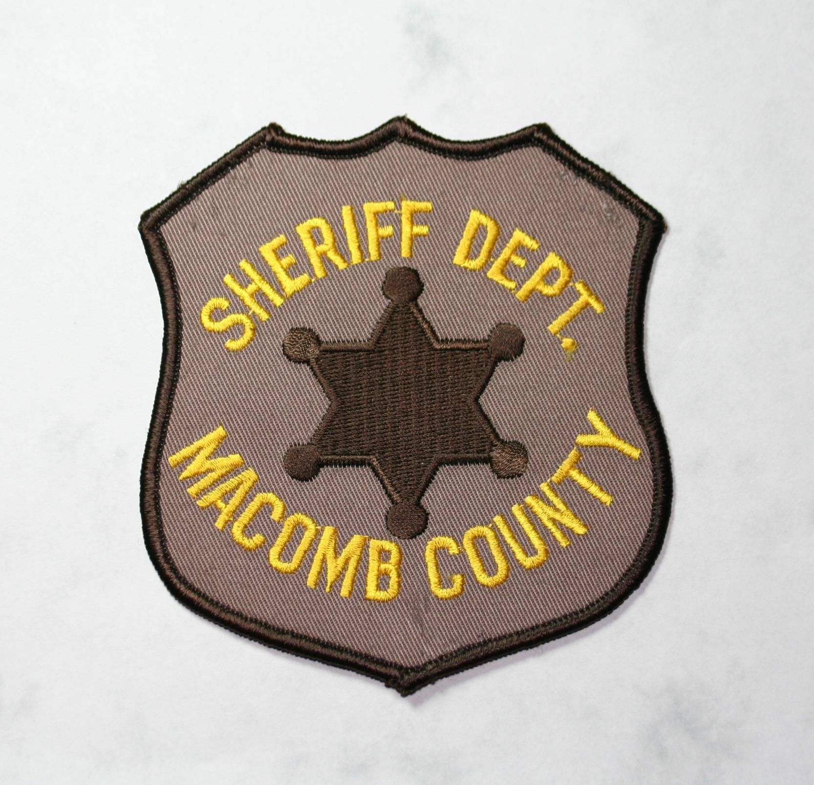 Macomb Co. Sheriff, old