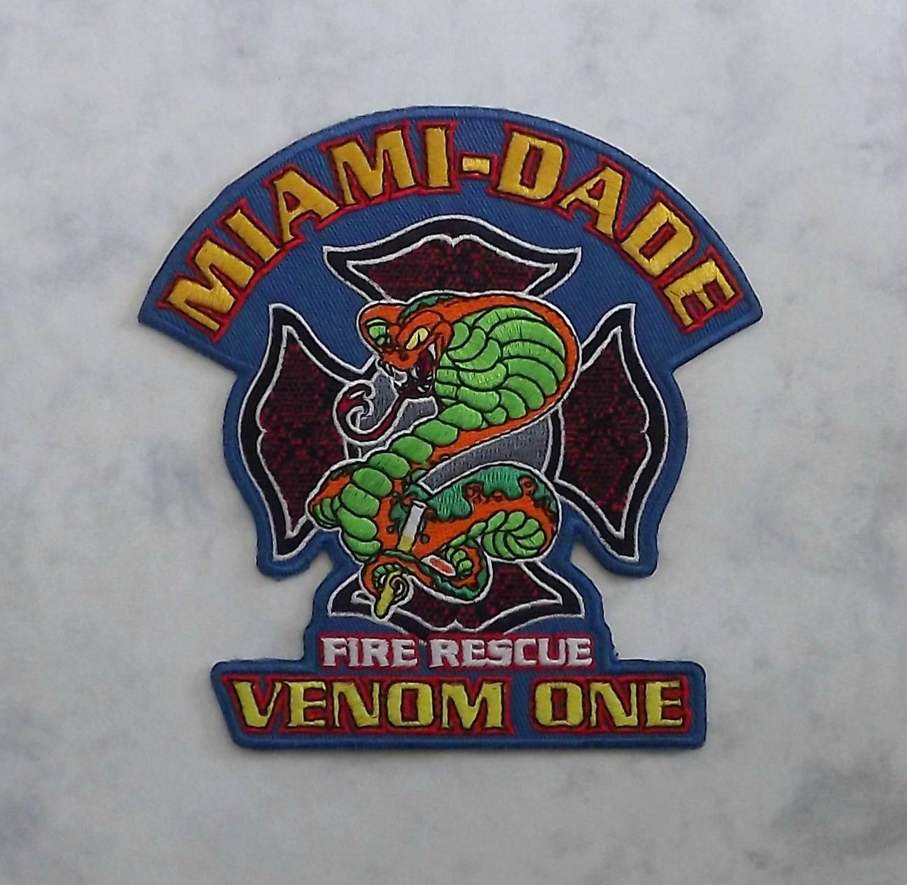 Miami-Dade Fire Rescue, Venom One (close up)