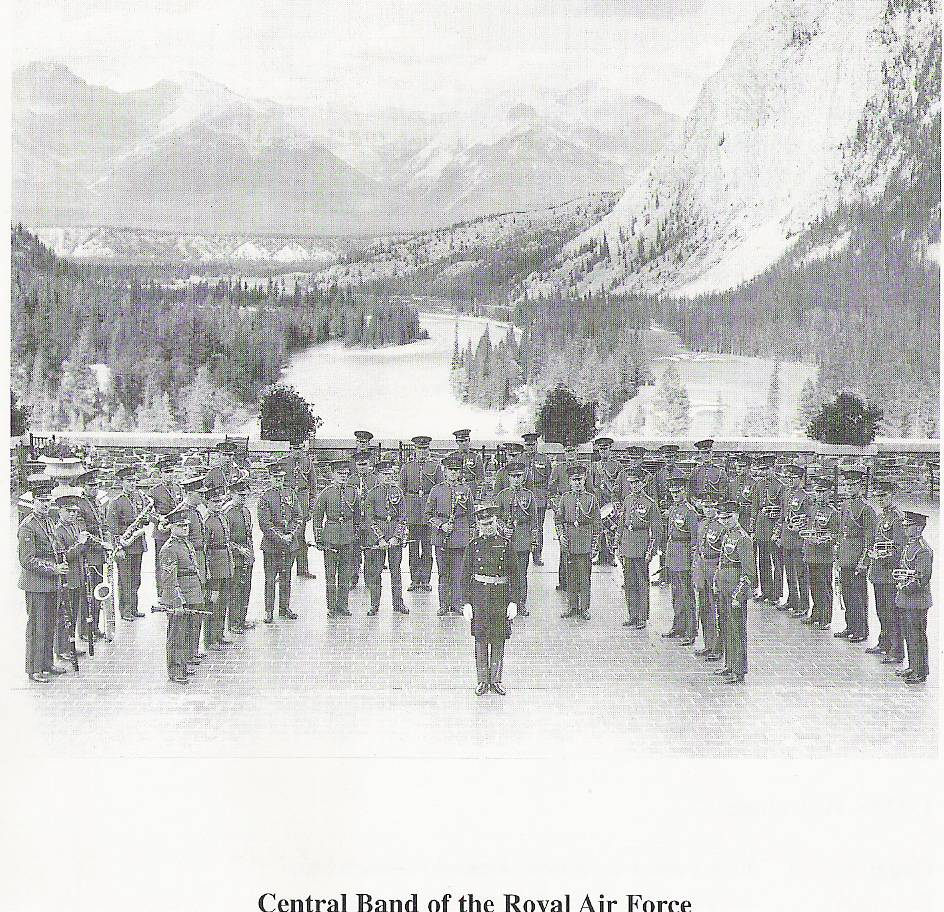 Royal Air Force Band in Canada