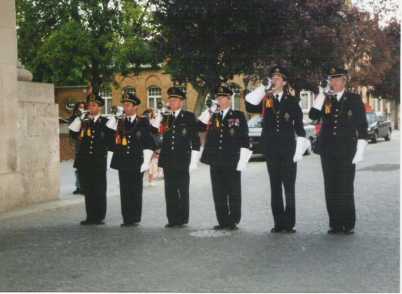 Ieper Fire Brigade Buglers