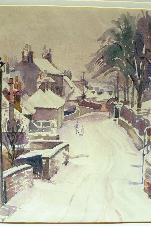 Rotchell Road, Maxelltown, In Winter