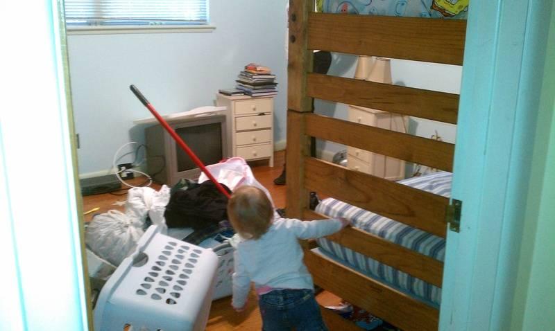 Kids room before