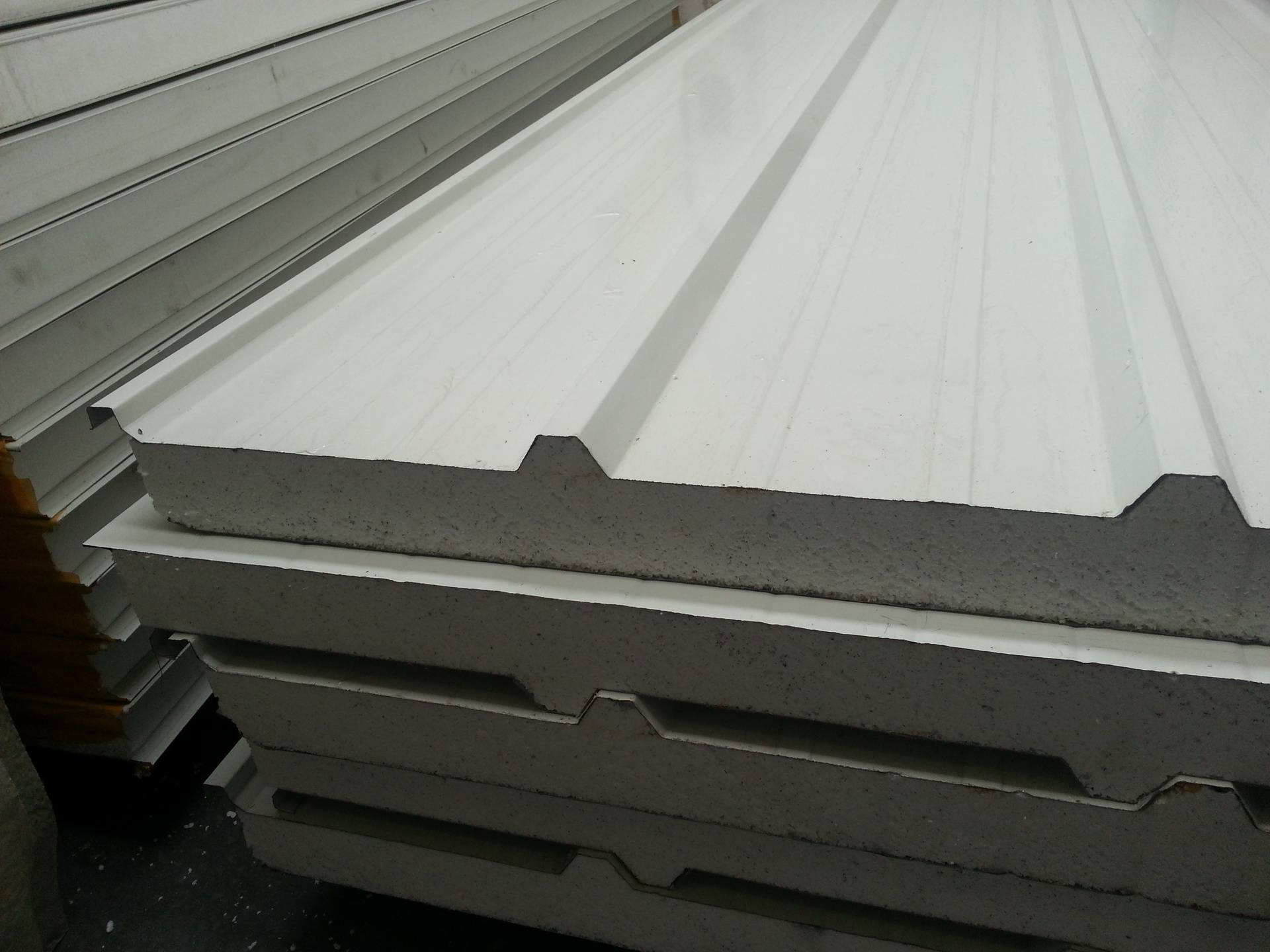 Trimdeck roof panels