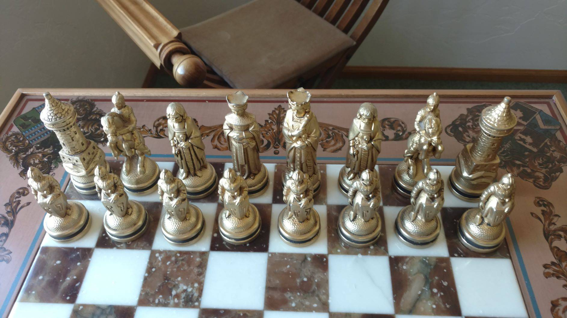 Italian Chess Set