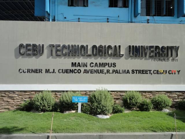 Cebu Technological University, M. J. Cuenco Avenue, R. Palma Street, Cebu City, Cebu, 6000, Philippines