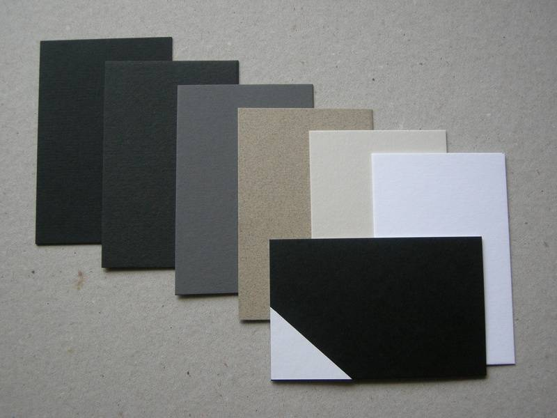 2. Card Colours -  Colorplan 540gsm