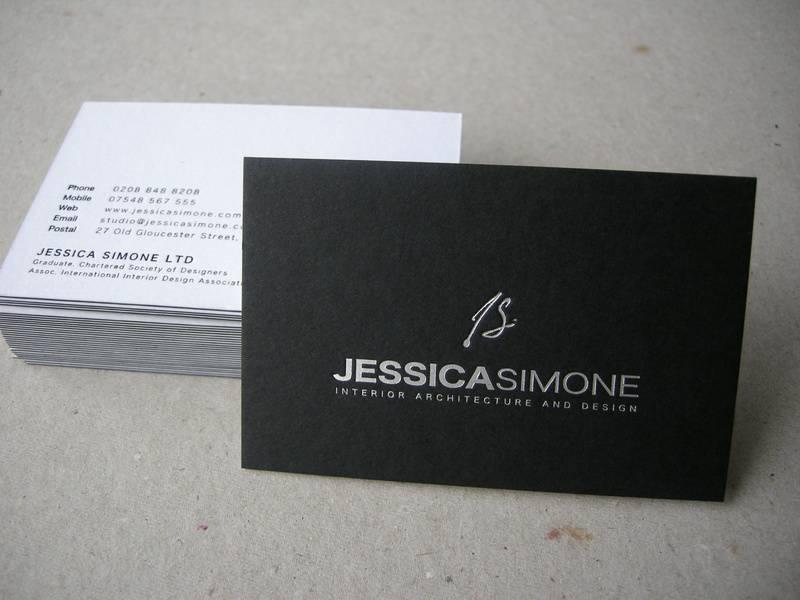 30. Card; Colorplan Duplex Ebony/White