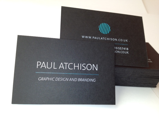 37. Paul Atchison.  Card Ebony 540gsm