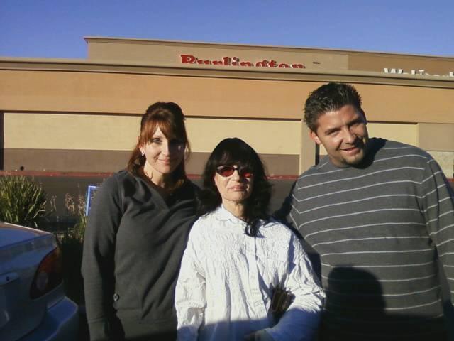 Sister Heidi, Husband Stephan, My mother