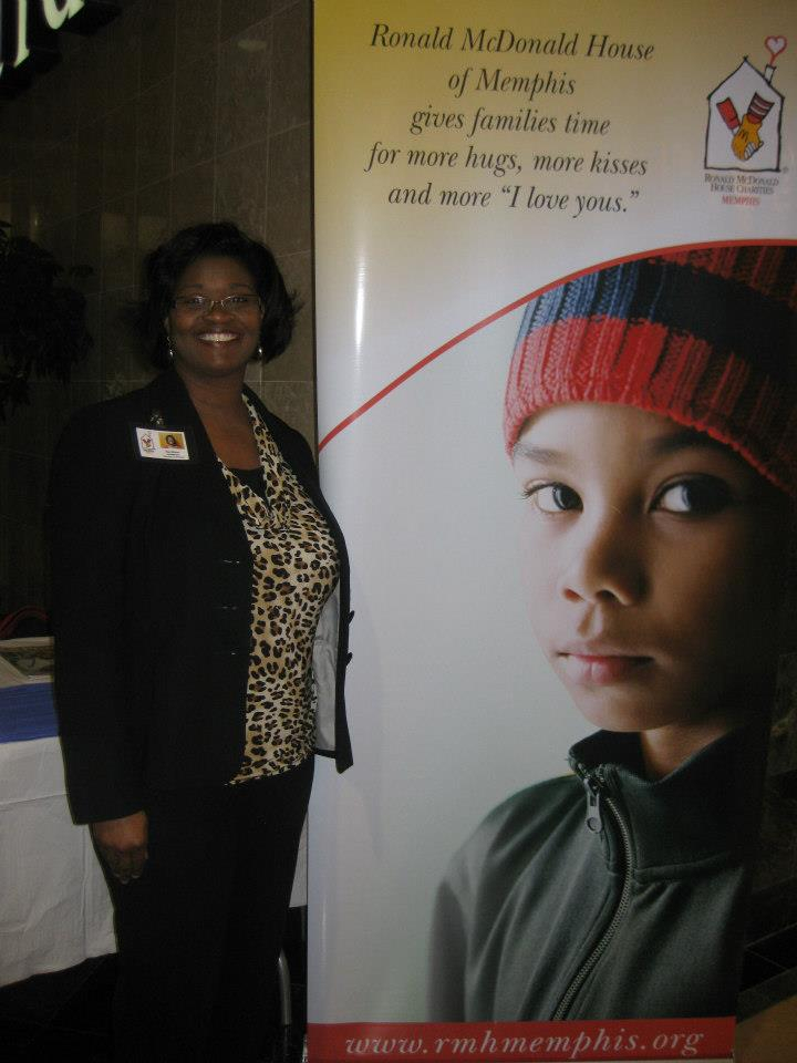 DOVIA member from the Ronald McDonald House of Memphis