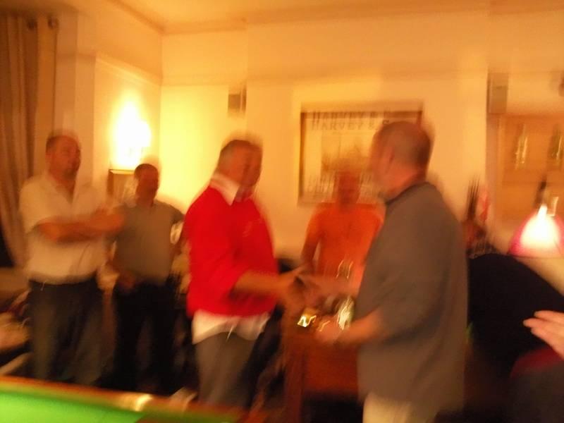 A blurry Chairman 2010