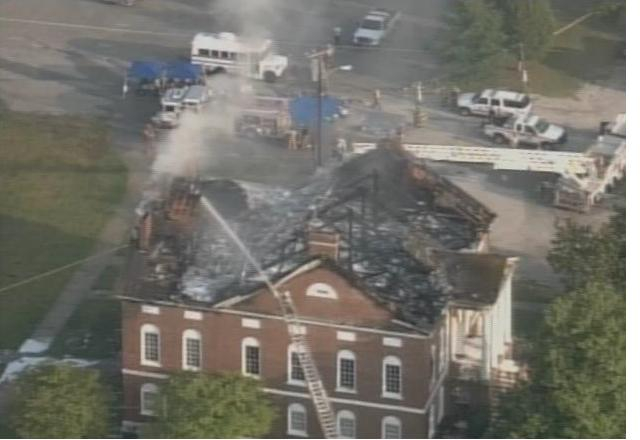 Lancaster County Court House Fire
