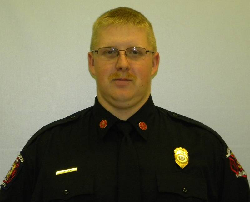 Firefighter Williams