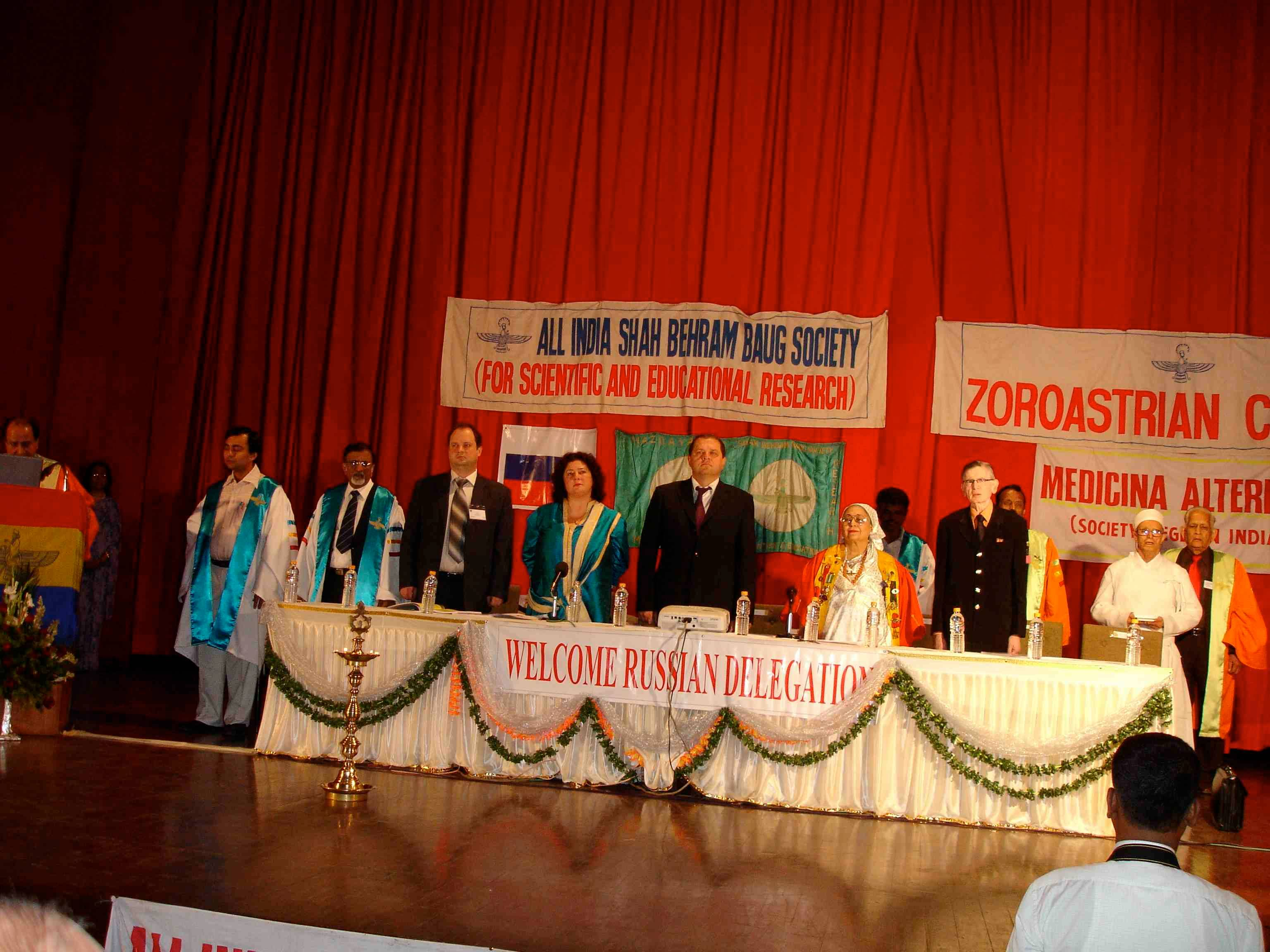 Int. Congresso, Medicina Alternativa, Mumbai