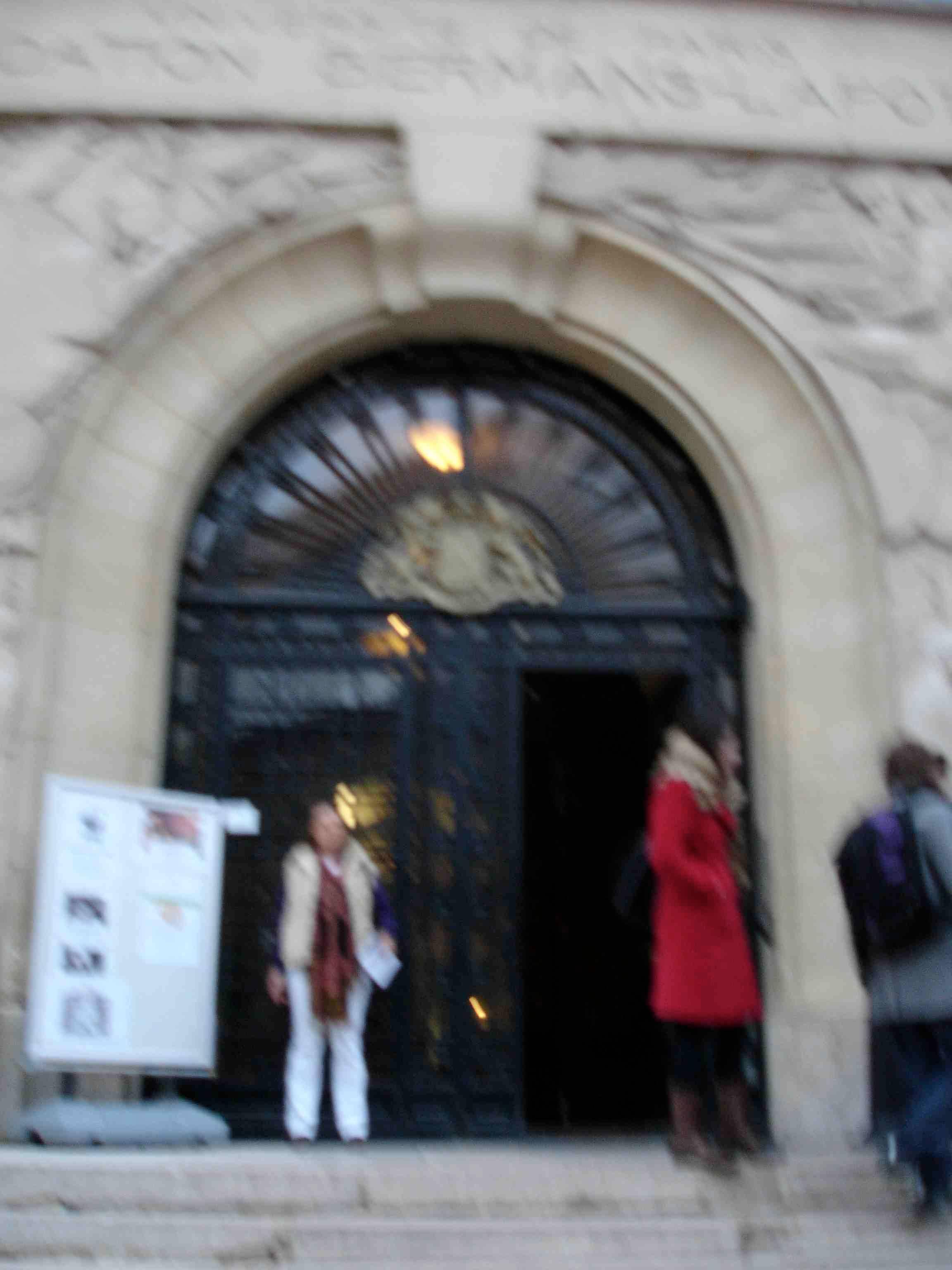 Conférence de l'IPSN, Paris