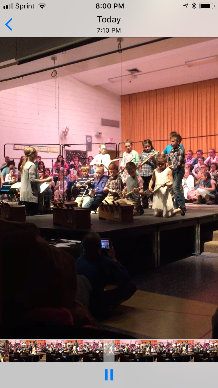 Canjos at Elementary School Music Program
