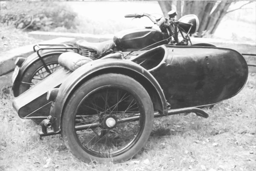 BSA sidecar  1930ies