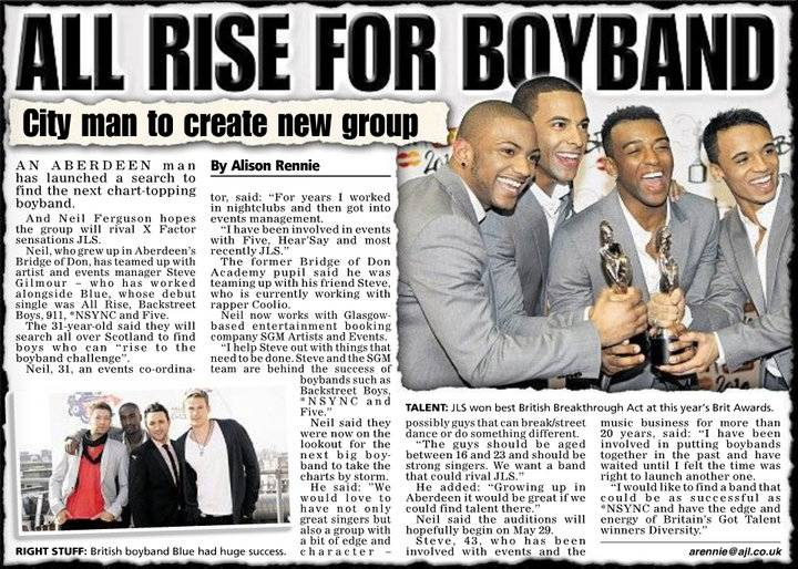 ALL RISE FOR BOYBAND: