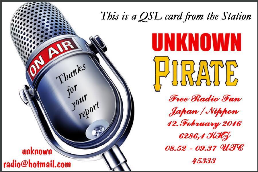 Unknown Pirate Radio