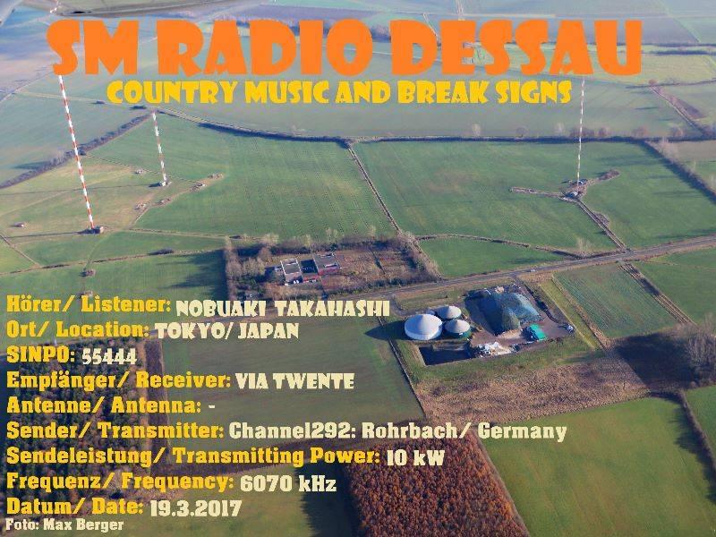 SM Radio DESSAU via Channel292