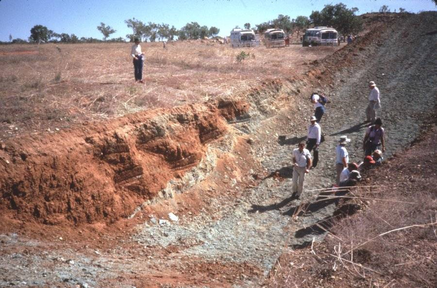 Ellendale diamondiferous lamproite, Australia