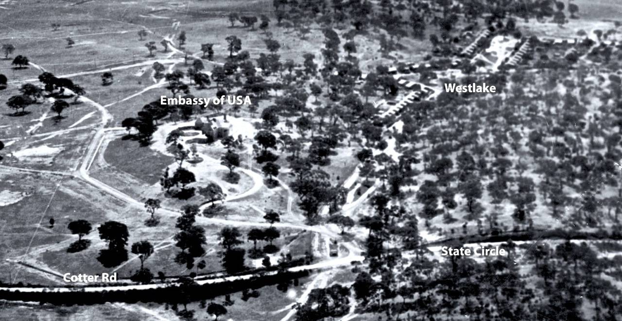 Site of American Embassy c1943