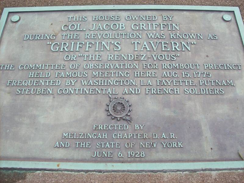 Griffen's Tavern Plaque