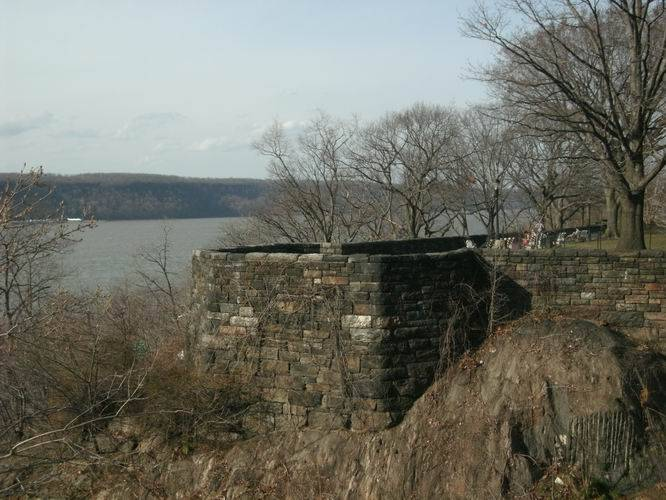 Fort Tryon Park view