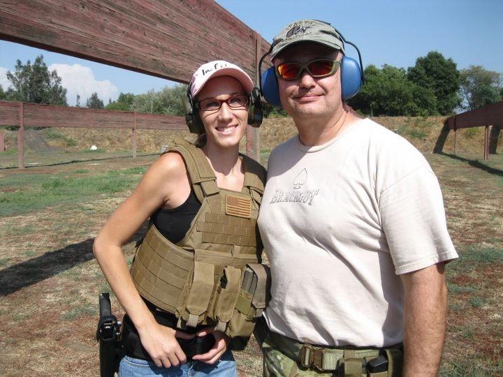 Nikki & Mike at the Range