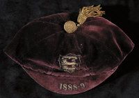England Football Cap 1888
