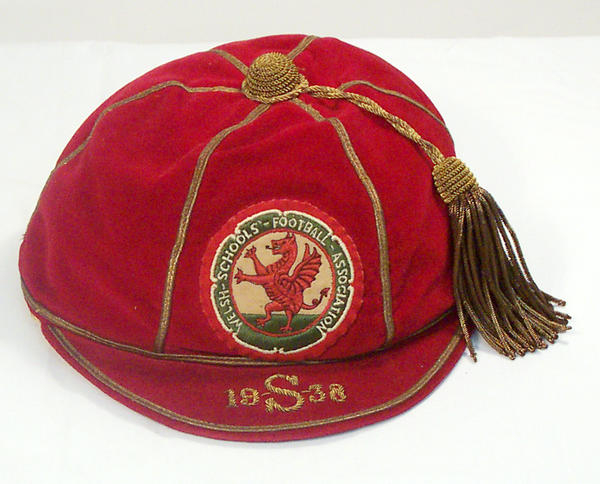 Classic Wales Schools International Football Cap 1938