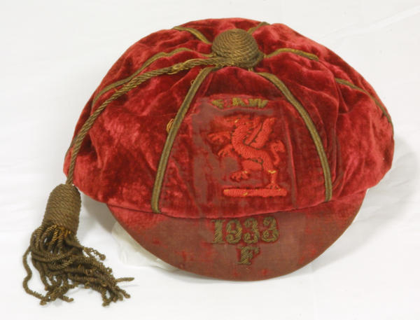 Classic Wales International Football Cap 1933