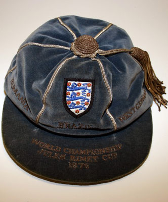 England Football Cap