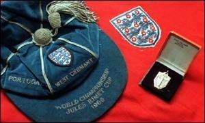 George Cohen's 1966 England World Cup cap