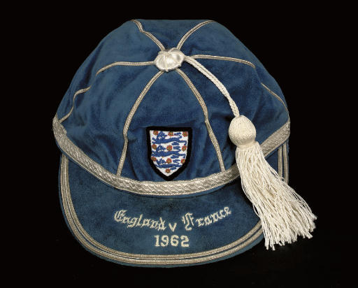 Bobby Moore's England Football Cap v France 1962