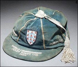 Alan Ball's England International Football Cap v Uruguay, Argentina, Portugal & West Germany 1966 World Cup