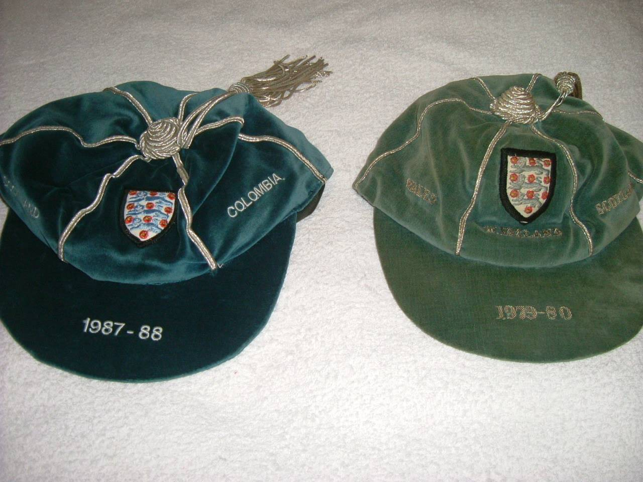 England Football Caps