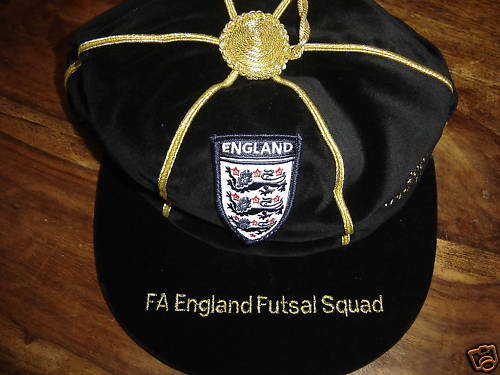 England Futsal Football Cap 2007