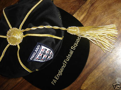 England Futsal Football Cap