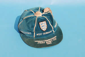 Nobby Stiles England Football Cap 1966 World Cup